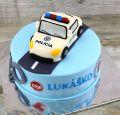 Torta Torta s Policajným autom