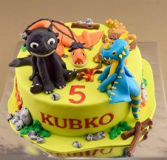 Dinovia na torte
