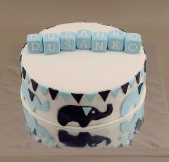 Sloníky na torte