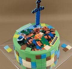 Minecraft a meč