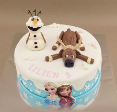 Torta Frozen s potavičkami
