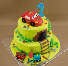 Narodeninová torta McQueen