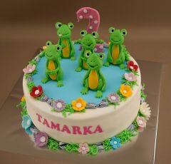 Torta so žabkami