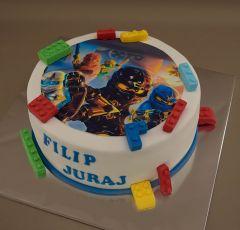 Torta Lego Ninja go