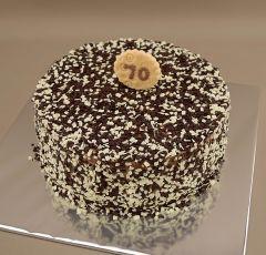 Čierno-biela torta