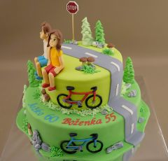 Cyklistická torta
