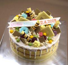 Nahá narodeninová torta