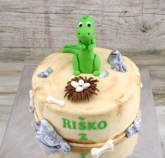 Torta s dinosaurom