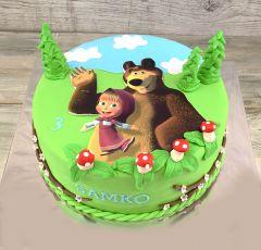 Torta Máša medveď