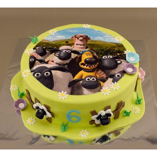 Najnovšie torty » Torta Poschodová torta Cars