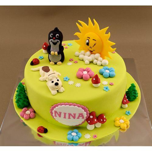 Najnovšie torty » Torta Nahá torta s ovocím