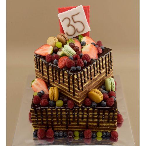Najnovšie torty » Torta Nahá dobošová torta