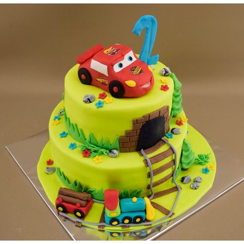 Najnovšie torty » Torta Narodeninová torta Mc Queen