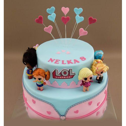 Najnovšie torty » Torta Narodeninová torta LOL