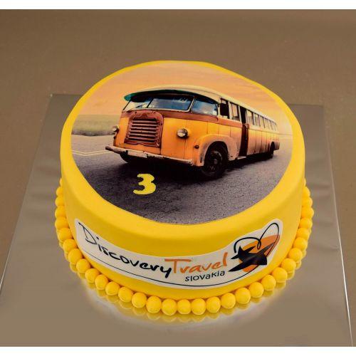 Najnovšie torty » Torta Torta s dopravným lietadlom