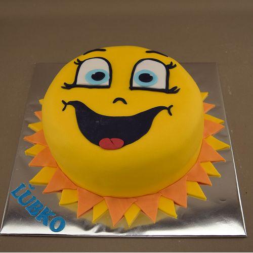 Najnovšie torty » Torta Narodeninová torta slniečko