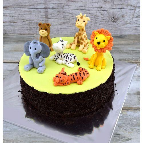 Najnovšie torty » Torta Torta so zvieratkami