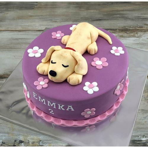Najnovšie torty » Torta Narodeninová torta so psíkom