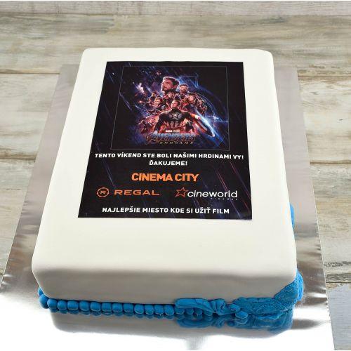 Najnovšie torty » Torta Torta Avengers Cinemax