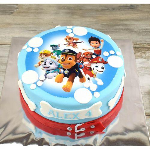 Najnovšie torty » Torta Narodeninová torta Paw atrol