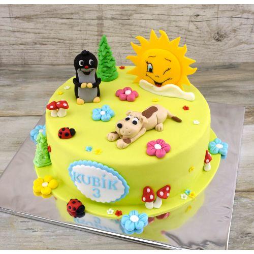 Najnovšie torty » Torta Narodeninová torta krtko