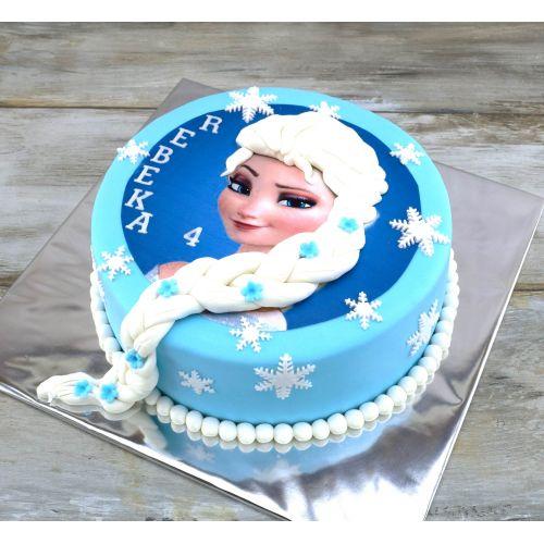 Najnovšie torty » Torta Detská narodeninová torta Frozen