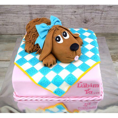 Najnovšie torty » Torta Torta so psom