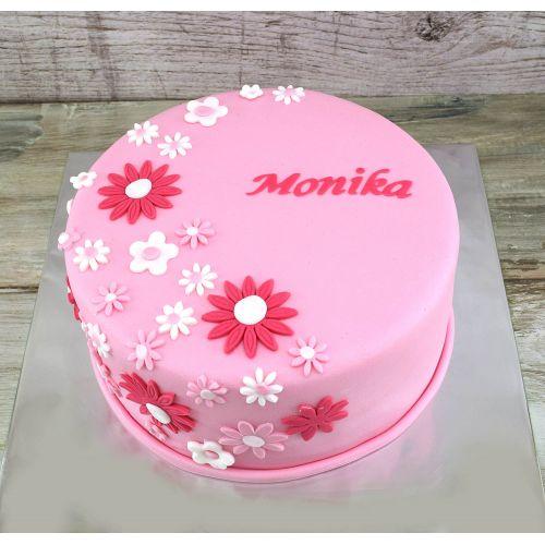 Najnovšie torty » Torta Torta s kvetmi